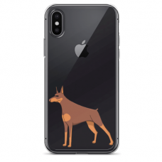 "Tpu Dėklas Unikaliu Dizainu 1.0 Mm ""U-Case Airskin Doggo 6 Design"" Iphone Xr Telefonui"