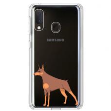 "Tpu Dėklas Unikaliu Dizainu 1.0 Mm ""U-Case Airskin Doggo 6 Design"" Samsung Galaxy A20E Telefonui"