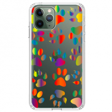 "Tpu Dėklas Unikaliu Dizainu 1.0 Mm ""U-Case Airskin Paw Design"" Iphone 11 Pro Telefonui"