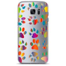 "Tpu Dėklas Unikaliu Dizainu 1.0 Mm ""U-Case Airskin Paw Design"" Samsung Galaxy S7 Edge Telefonui"