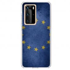"Tpu Dėklas Unikaliu Dizainu 1.0 Mm ""U-Case Airskin Eu Design"" Huawei P40 Telefonui"