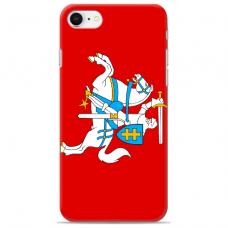 """Tpu Dėklas Unikaliu Dizainu 1.0 Mm """"U-Case Airskin Vytis Design"""" Iphone 7 Plus / Iphone 8 Plus Telefonui"""