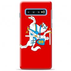 """Tpu Dėklas Unikaliu Dizainu 1.0 Mm """"U-Case Airskin Vytis Design"""" Samsung Galaxy S10 Plus Telefonui"""