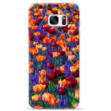 "Tpu Dėklas Unikaliu Dizainu 1.0 Mm ""U-Case Airskin Nature 2 Design"" Samsung Galaxy S7 Edge Telefonui"