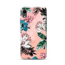 """TPU dėklas unikaliu dizainu 1.0 mm """"u-case Airskin Flowers 1 design"""" Iphone Xr telefonui"""