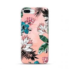"TPU dėklas unikaliu dizainu 1.0 mm ""u-case Airskin Flowers 1 design"" Iphone 7 Plus / 8 Plus telefonui"