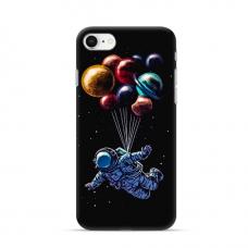 """TPU dėklas unikaliu dizainu 1.0 mm """"u-case Airskin Cosmo design"""" Iphone 7 / 8 / SE 2020 telefonui"""