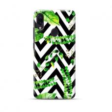 """TPU dėklas unikaliu dizainu 1.0 mm """"u-case Airskin Leaves 2 design"""" Samsung Galaxy A40 telefonui"""