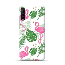 "TPU dėklas unikaliu dizainu 1.0 mm ""u-case Airskin Flamingos design"" Samsung Galaxy A50 telefonui"