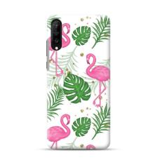 "TPU dėklas unikaliu dizainu 1.0 mm ""u-case Airskin Flamingos design"" Samsung Galaxy A70 telefonui"