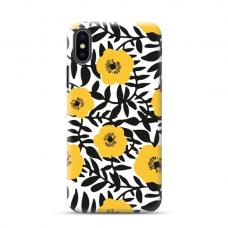 """TPU dėklas unikaliu dizainu 1.0 mm """"u-case Airskin Flowers 2 design"""" Iphone 11 XS Max telefonui"""