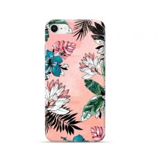 "TPU dėklas unikaliu dizainu 1.0 mm ""u-case Airskin Flowers 1 design"" Iphone 7 / 8 / SE 2020 telefonui"