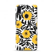 "TPU dėklas unikaliu dizainu 1.0 mm ""u-case Airskin Flowers 2 design"" Samsung Galaxy A40 telefonui"