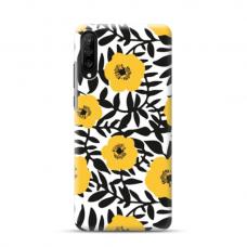 "TPU dėklas unikaliu dizainu 1.0 mm ""u-case Airskin Flowers 2 design"" Samsung Galaxy A70 telefonui"