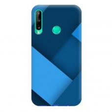 "TPU dėklas unikaliu dizainu 1.0 mm ""u-case Airskin Blue design"" Huawei P40 Lite E telefonui"
