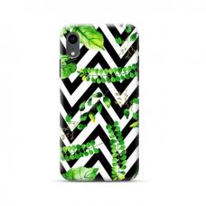 """TPU dėklas unikaliu dizainu 1.0 mm """"u-case Airskin Leaves 2 design"""" Iphone Xr telefonui"""