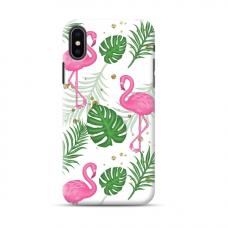 "TPU dėklas unikaliu dizainu 1.0 mm ""u-case Airskin Flamingos design"" Iphone 11 XS Max telefonui"