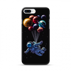 "TPU dėklas unikaliu dizainu 1.0 mm ""u-case Airskin Cosmo design"" Iphone 7 Plus / 8 Plus telefonui"