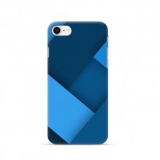 """TPU dėklas unikaliu dizainu 1.0 mm """"u-case Airskin Blue design"""" Iphone 7 / 8 / SE 2020 telefonui"""