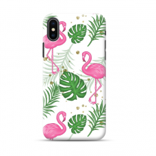 "Tpu Dėklas Unikaliu Dizainu 1.0 Mm ""U-Case Airskin Flamingos Design"" Iphone Xs Max Telefonui"