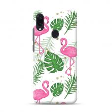 "TPU dėklas unikaliu dizainu 1.0 mm ""u-case Airskin Flamingos design"" Samsung Galaxy A20e telefonui"