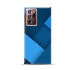 """TPU dėklas unikaliu dizainu 1.0 mm """"u-case Airskin Blue design"""" Samsung Galaxy Note 20 Ultra telefonui"""