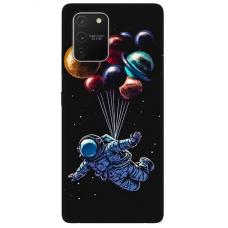 "Tpu Dėklas Unikaliu Dizainu 1.0 Mm ""U-Case Airskin Cosmo Design"" Samsung Galaxy S10 Lite Telefonui"