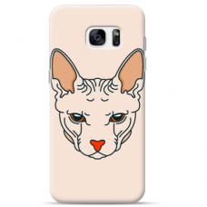 "Tpu Dėklas Unikaliu Dizainu 1.0 Mm ""U-Case Airskin Kato Design"" Samsung Galaxy S6 Telefonui"