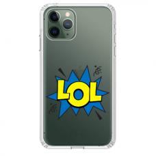 """Tpu Dėklas Unikaliu Dizainu 1.0 Mm """"U-Case Airskin Lol Design"""" Iphone 11 Pro Telefonui"""