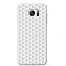 "Tpu Dėklas Unikaliu Dizainu 1.0 Mm ""U-Case Airskin Pattern 5 Design"" Samsung Galaxy S6 Edge Telefonui"