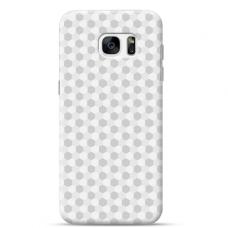 "Tpu Dėklas Unikaliu Dizainu 1.0 Mm ""U-Case Airskin Pattern 5 Design"" Samsung Galaxy S7 Telefonui"