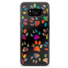 """Tpu Dėklas Unikaliu Dizainu 1.0 Mm """"U-Case Airskin Paw Design"""" Samsung Galaxy S8 Telefonui"""