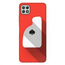 """TPU dėklas unikaliu dizainu 1.0 mm """"u-case Airskin Ace design"""" Samsung Galaxy A22 5G telefonui"""