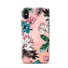 """TPU dėklas unikaliu dizainu 1.0 mm """"u-case Airskin Flowers 1 design"""" Iphone 11 XS Max telefonui"""