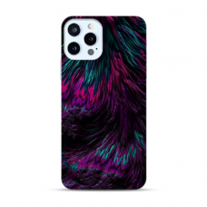 "TPU DĖKLAS UNIKALIU DIZAINU 1.0 mm ""U-CASE AIRSKIN FEATHER DESIGN"" IPHONE 12 PRO MAX TELEFONUI"