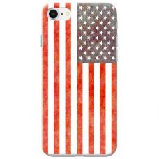 """Tpu Dėklas Unikaliu Dizainu 1.0 Mm """"U-Case Airskin Usa Design"""" Iphone 6 / Iphone 6S Telefonui"""