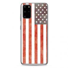 "Tpu Dėklas Unikaliu Dizainu 1.0 Mm ""U-Case Airskin Usa Design"" Samsung Galaxy S20 Telefonui"