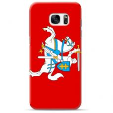 """Tpu Dėklas Unikaliu Dizainu 1.0 Mm """"U-Case Airskin Vytis Design"""" Samsung Galaxy S6 Edge Telefonui"""