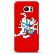 """Tpu Dėklas Unikaliu Dizainu 1.0 Mm """"U-Case Airskin Vytis Design"""" Samsung Galaxy S6 Telefonui"""