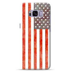 "Tpu Dėklas Unikaliu Dizainu 1.0 Mm ""U-Case Airskin Usa Design"" Samsung Galaxy S8 Telefonui"
