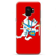 """Tpu Dėklas Unikaliu Dizainu 1.0 Mm """"U-Case Airskin Vytis Design"""" Samsung Galaxy S9 Telefonui"""