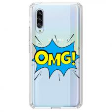 "Tpu Dėklas Unikaliu Dizainu 1.0 Mm ""U-Case Airskin Omg Design"" Huawei P30 Telefonui"