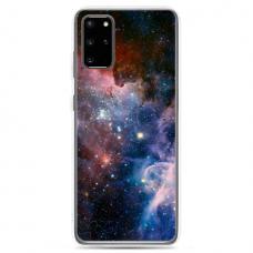 """TPU DĖKLAS UNIKALIU DIZAINU 1.0 MM """"U-CASE AIRSKIN SPACE 2 DESIGN"""" SAMSUNG GALAXY NOTE 10 LITE TELEFONUI"""