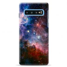 "Tpu Dėklas Unikaliu Dizainu 1.0 Mm ""U-Case Airskin Space 2 Design"" Samsung Galaxy S10 Plus Telefonui"