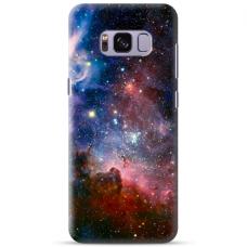 """Tpu Dėklas Unikaliu Dizainu 1.0 Mm """"U-Case Airskin Space 2 Design"""" Samsung Galaxy Note 8 Telefonui"""