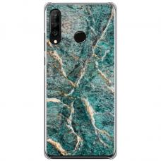 "Tpu Dėklas Unikaliu Dizainu 1.0 Mm ""U-Case Airskin Marble 1 Design"" Huawei P40 Lite E Telefonui"