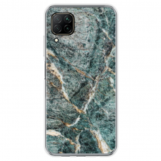 "Tpu Dėklas Unikaliu Dizainu 1.0 Mm ""U-Case Airskin Marble 1 Design"" Huawei P40 Lite Telefonui"