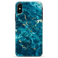 """Tpu Dėklas Unikaliu Dizainu 1.0 Mm """"U-Case Airskin Marble 2 Design"""" Iphone Xr Telefonui"""