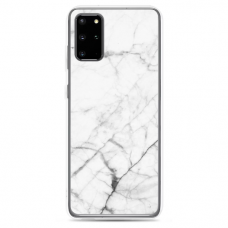 "Tpu Dėklas Unikaliu Dizainu 1.0 Mm ""U-Case Airskin Marble 6 Design"" Samsung Galaxy S20 Fe Telefonui"