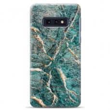 "Tpu Dėklas Unikaliu Dizainu 1.0 Mm ""U-Case Airskin Marble 1 Design"" Samsung Galaxy S10E Telefonui"